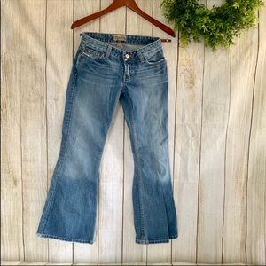 Bke. Star flare jeans. Size 26